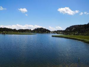 Le lac de paix